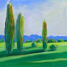New England Poplars {NSW Australia ] by Virginia McGowan