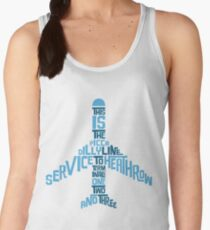 Piccadilly Line Service to Heathrow Women's Tank Top