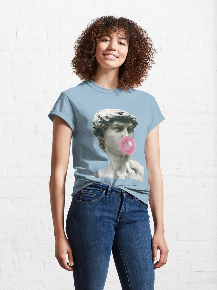 Alternate view of Bad bitches wanna be my bae Classic T-Shirt