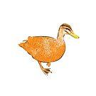 Orange Duck by george williams