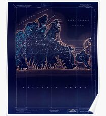 Massachusetts  USGS Historical Topo Map MA Marthas Vineyard 352842 1894 62500 Inverted Poster