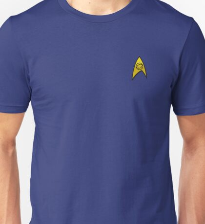Star Trek Science Uniform Unisex T-Shirt