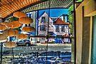 Restaurant Window by Nigel Bangert