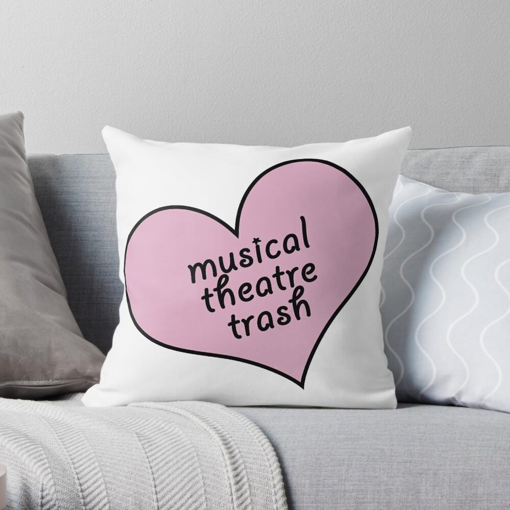 Musical Theater Müll Dekokissen