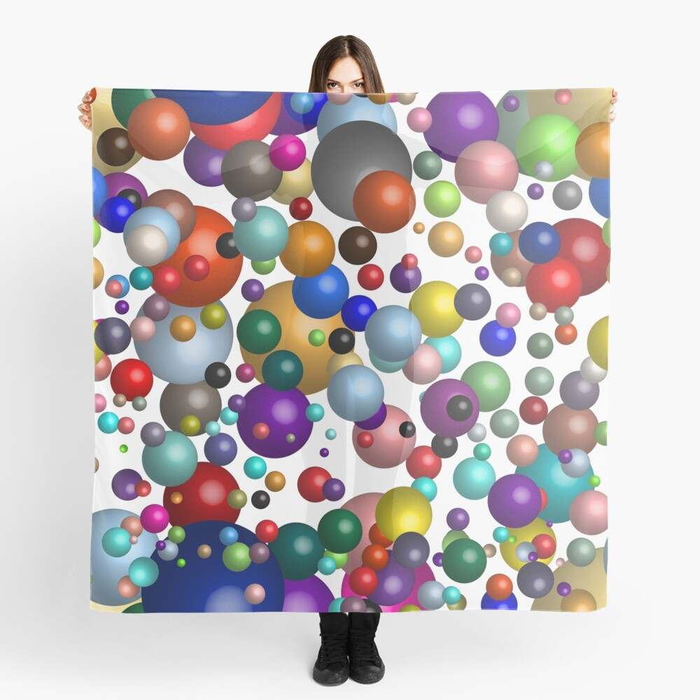 Floating Bubbleliciousness Scarf