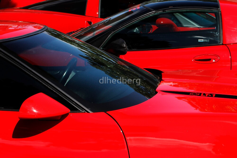 Corvette Red by dlhedberg