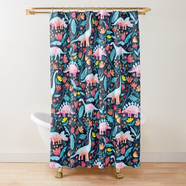 Dinosaur Delight Shower Curtain