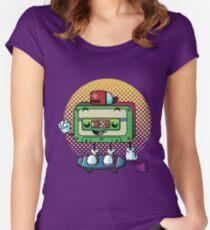 Cassette Love Women's Fitted Scoop T-Shirt