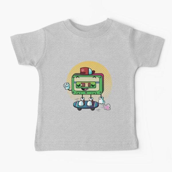 Cassette Love Camiseta para bebés