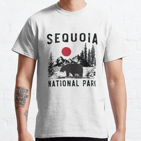 Vintage Sequoia National Park California Black Bear Souvenir Classic T-Shirt