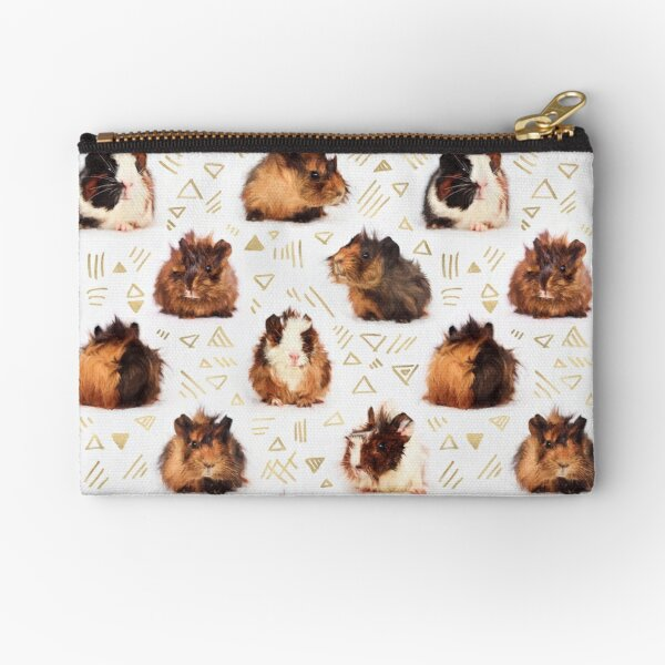 The Essential Guinea Pig Zipper Pouch