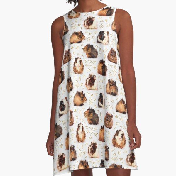 The Essential Guinea Pig A-Line Dress