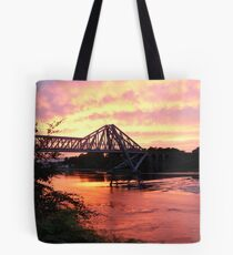 Connel Falls of Lora Sunset Tote Bag