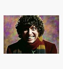 Fourth Doctor Photographic Print