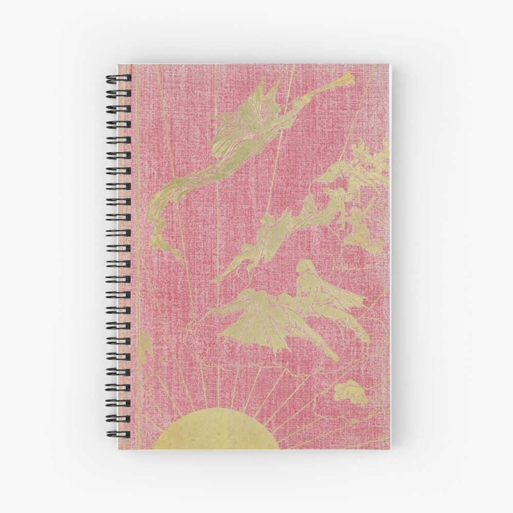 Fairy Note Book Pink