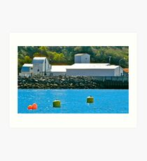Fish Packing Plant, East Ferry Art Print