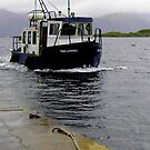 Lismore Ferry at Port Appin by Stephen Eccles