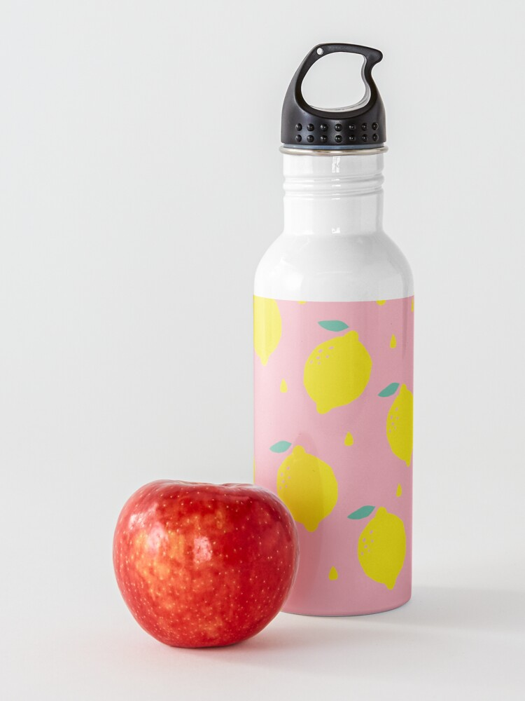 Alternate view of Sweet Lemon Pattern Water Bottle