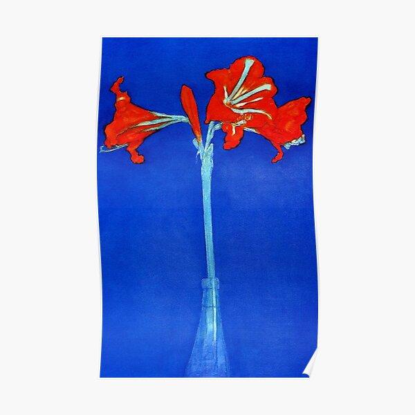 MONDRIAN. Amaryllis, Lilly, Piet Mondrian. Poster