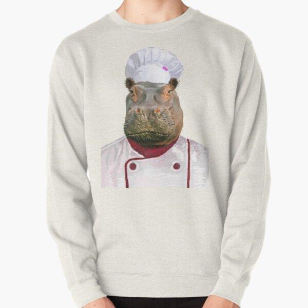 Madame Hippo the Chef Pullover Sweatshirt