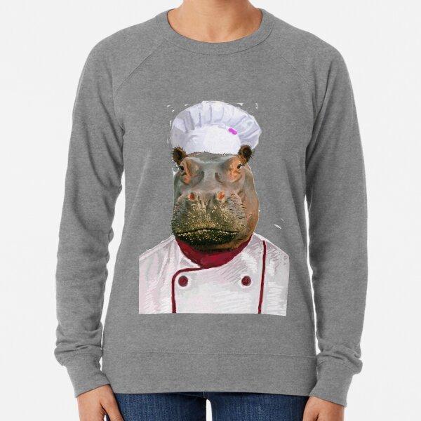 Madame Hippo the Chef Lightweight Sweatshirt