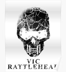 Vic Rattlehead - Megadeth Poster