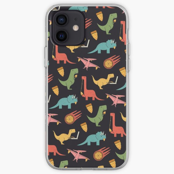 Pizza Dinos iPhone Soft Case