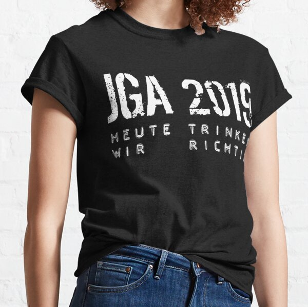 JUNGGESELLENABSCHIED by die|site Classic T-Shirt