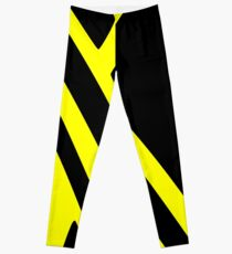 BLACK and YELLOW DAZZLE Leggings