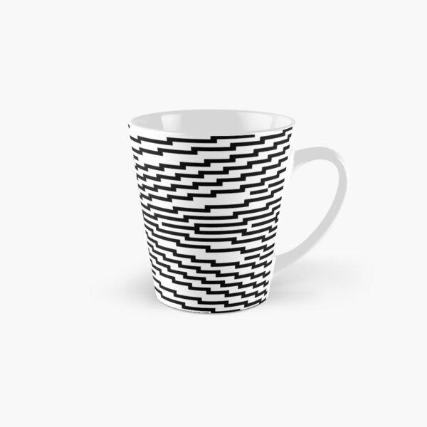 #Psychedelic #Hypnotic #Pattern, Visual #Illusion, Optical Art  Tall Mug
