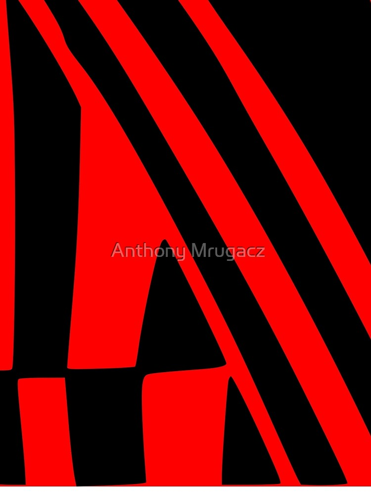 BLACK and RED DAZZLE by AD1959MRUGACZ