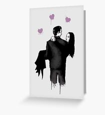 Spooky Love Greeting Card