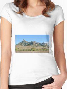 Wildcat Hills, Nebraska Women's Fitted Scoop T-Shirt