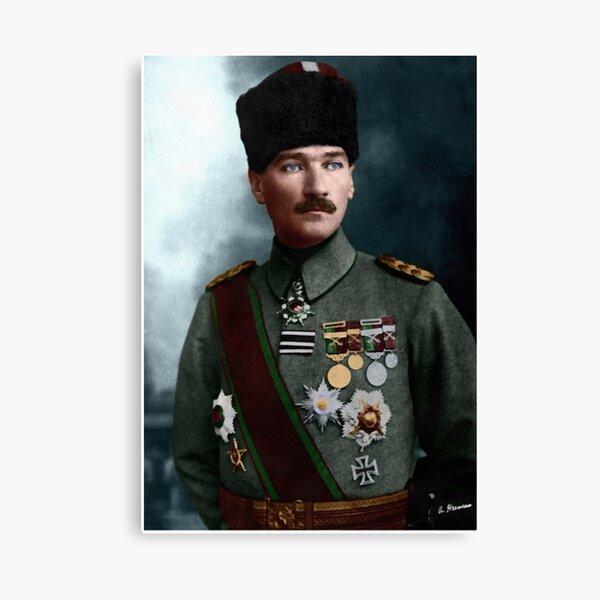 Mustafa Kemal Atatürk 1918 Canvas Print