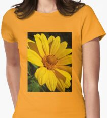 Yellow Beauty Women's Fitted T-Shirt