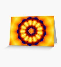 Interpretation of the Southwestern Sun Greeting Card