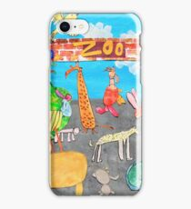 Melbourne Zoo iPhone Case/Skin