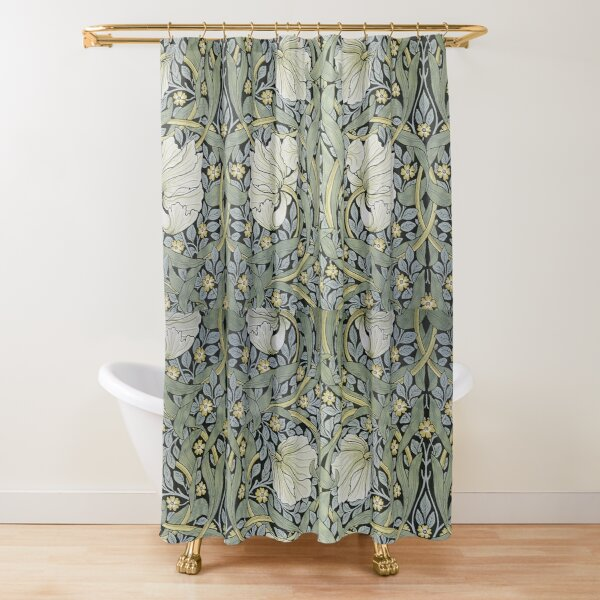 William Morris - Pimpernel   Design Shower Curtain