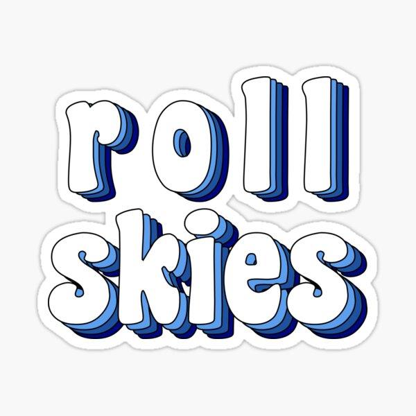 Groovy Roll 'Skies Sticker
