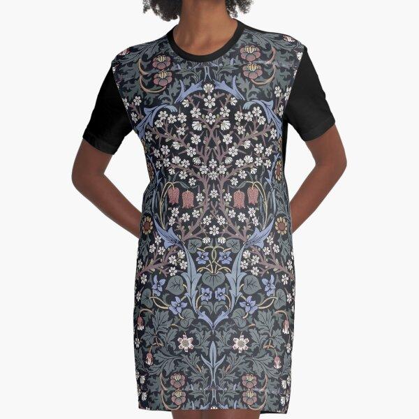 William Morris - Blackthorn  Graphic T-Shirt Dress