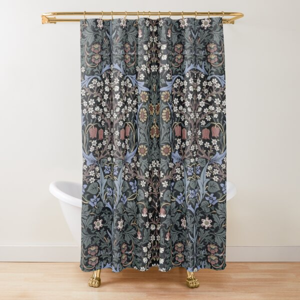 William Morris - Blackthorn  Shower Curtain