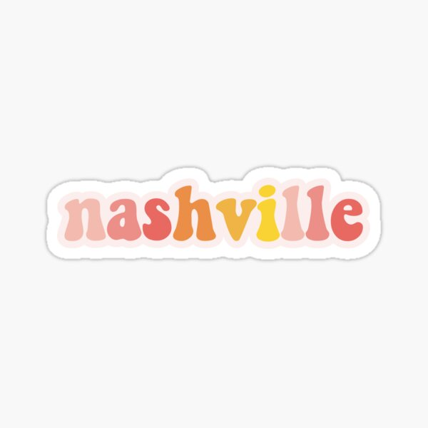 Nashville TN Sticker