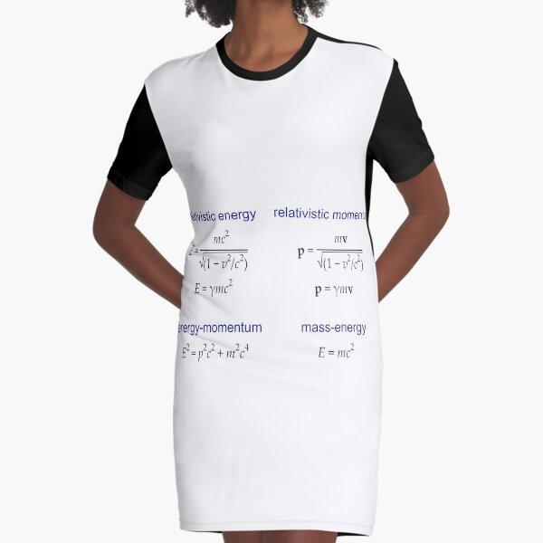 #Relativistic #Energy, #Momentum, #Mass, Physics Graphic T-Shirt Dress