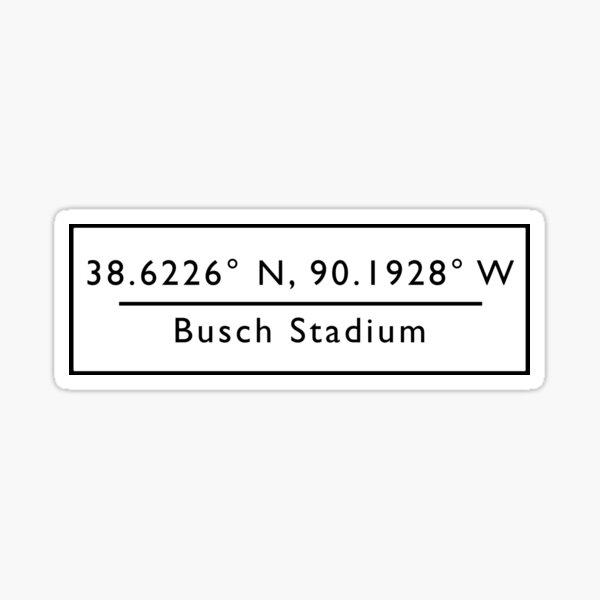Busch Stadium  Sticker