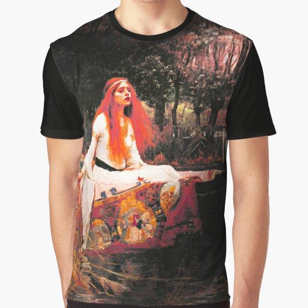 Vivid Retro - The Lady of Shalott Graphic T-Shirt
