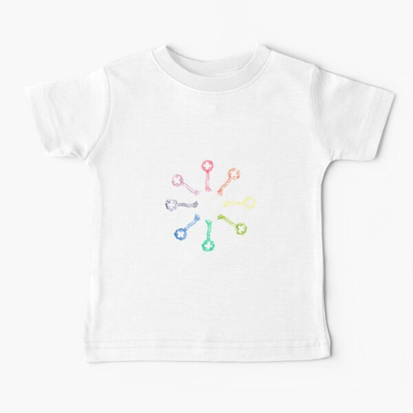 Phage Rainbows Baby T-Shirt