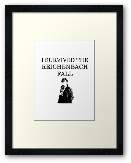 I survived the Reichenbach fall by josephrory
