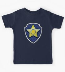 Chase - Police Pup-tag Kids T-Shirt