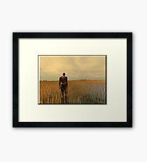 The Far Away Framed Print