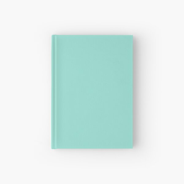 Solid Aqua Pastel Bluebell  Hardcover Journal